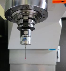 Тъч проба за мерене на детайла METROL – Япония на обработващ център VMC