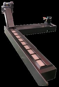 Стружкотранспортъор: верижен тип на обработващ център VMC