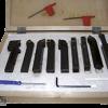 Многофункционални комплекти от 9 бр. стругарски ножове