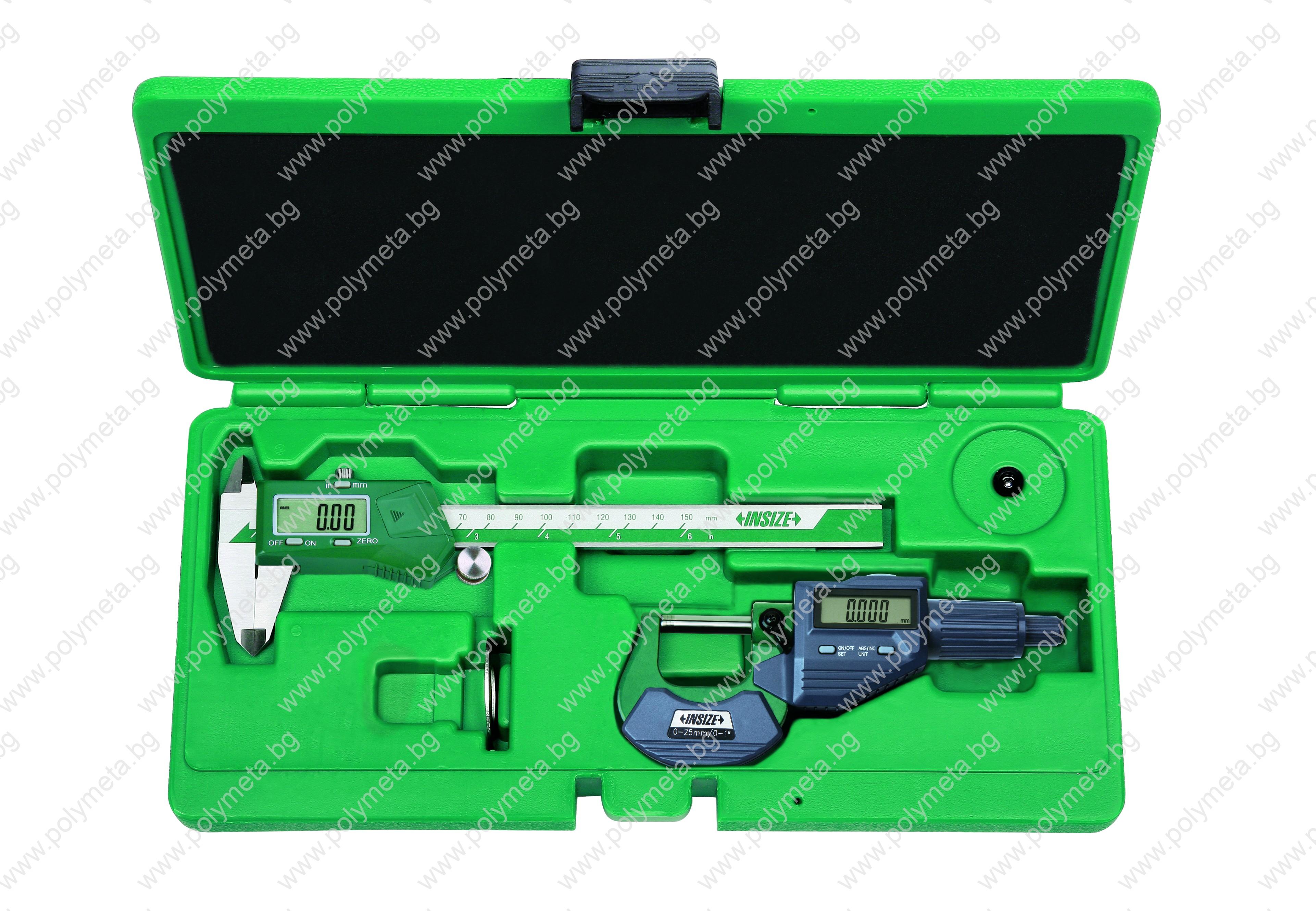Комплект 2 броя електронни мерителни инструменти