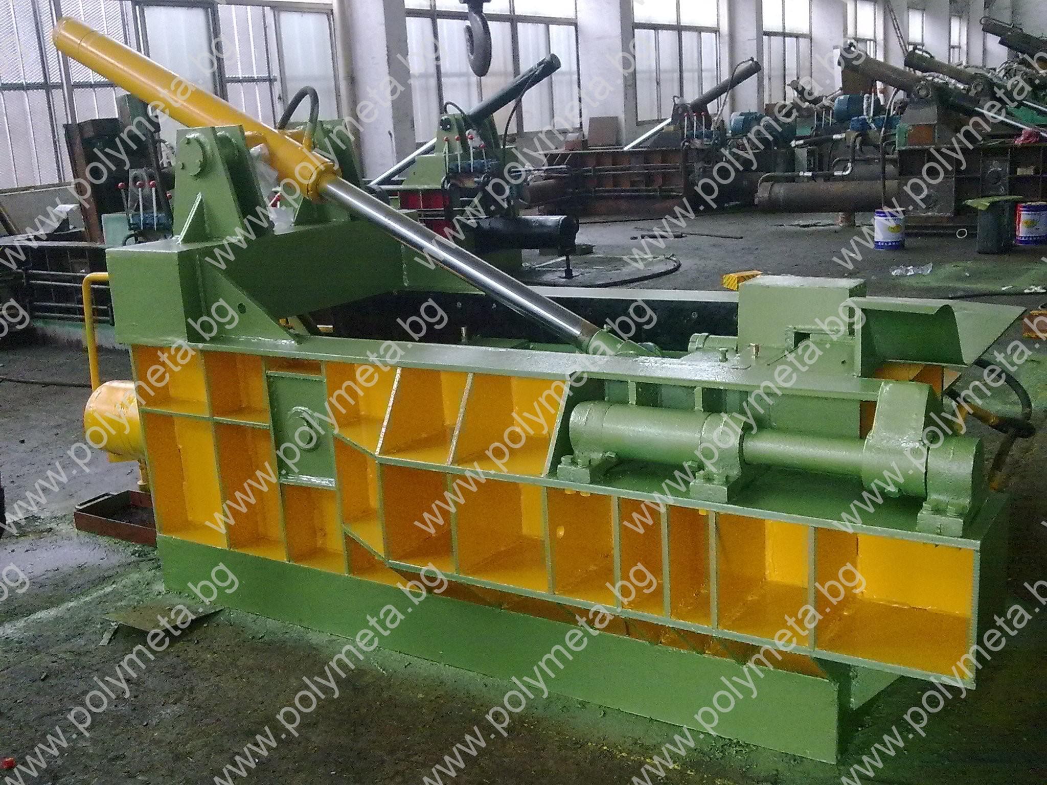 Хидравлична балираща преса за метални отпадъци Y81F-100