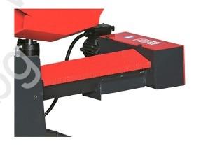 Стружкотранспортьор на лентоотрезна машина пълен автомат и хидравлично менгеме Karmetal 300 OSA PLC