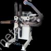 Размотаващо устройство AGM на автоматичирана линия, състояща се от механична преса с пневматичен съединител FRESAN FP 60, размотаващо устройство, изправящо и подаващо устройство FRESAN