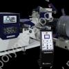 Размотаващо и подаващо устройство AGM CL 302 на автоматичирана линия, състояща се от механична преса с пневматичен съединител FRESAN FP 60, размотаващо устройство, изправящо и подаващо устройство FRESAN